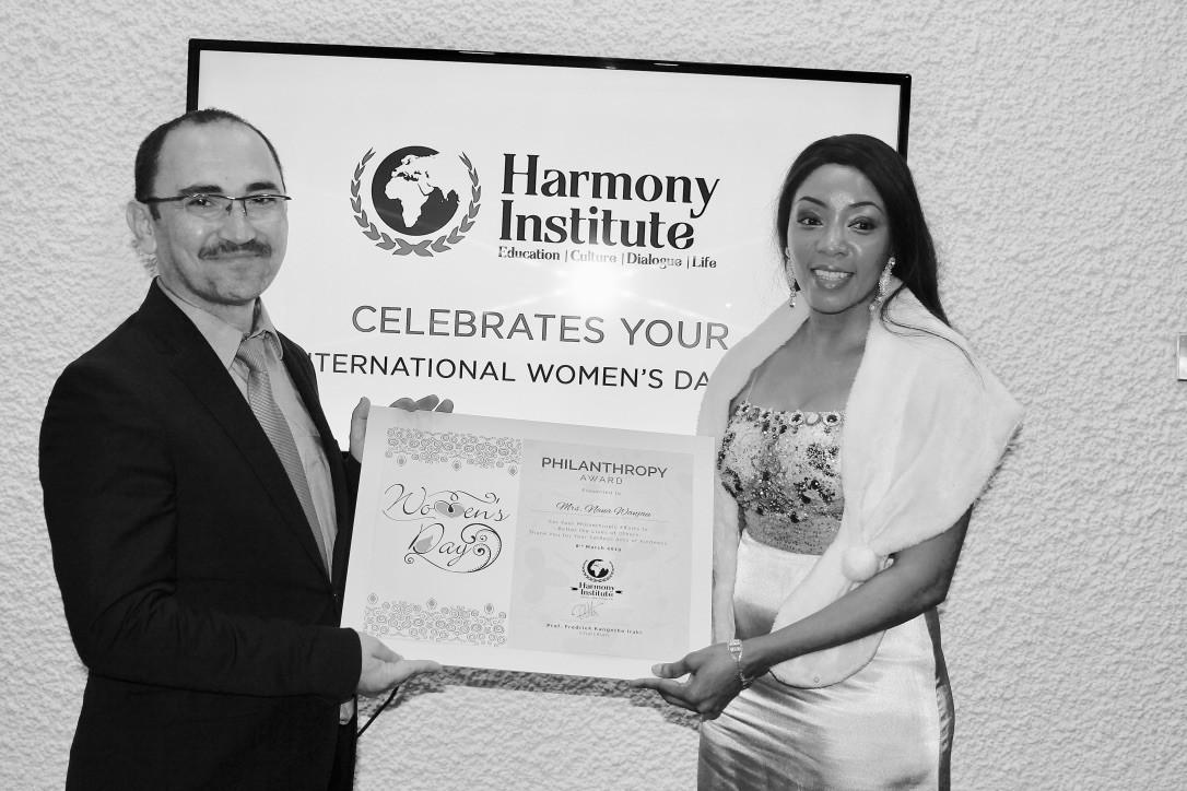 Harmony Institute  Philanthropy Award